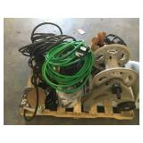 Lot of Miscellaneous Garden Hoses and Other Items