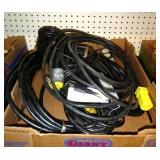 extension cords missing ends/electrical items