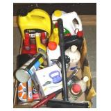 Vty of car fluids/cleaners-items