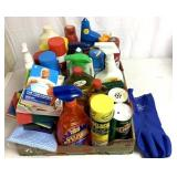 Large variety of cleaners