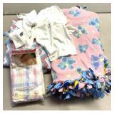 Baby blankets and outfit