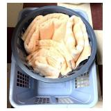 Towels/2 laundry baskets