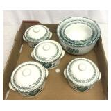Decorative bowls and canisters