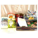 Variety pack tissue paper balloons etc.