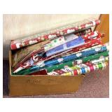 Large box of wrapping paper