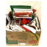 Gift boxes/wrapping supplies/Christmas towels