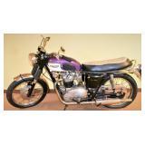 1967 Triumph 650 Bonneville 2 Cycle  Motorcycle