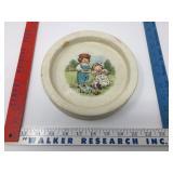 Antique Buffalo Pottery Campbells Soup Kids Bowl