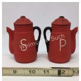 Vintage Salt & Pepper Shakers - Coffee Pot