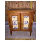 Small Chest/Cabinet Rooster Farmhouse Decor