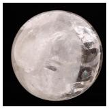 CLEAR QUARTZ CRYSTAL BALL - 11 IN. DIAMETER