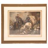 19th C. KING RICHARD II ACT V SCENE II ENGRAVING