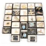 JEWELS BY PARK LANE COSTUME BROOCHES