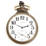 ILLINOIS WATCH CO. A. LINCOLN POCKET WATCH
