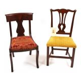 ADMIRAL BOWMAN H. MCCALLA ESTATE DINING CHAIRS