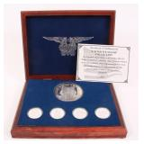UNITED WE STAND .999 SILVER MEDALLION COLLECTION