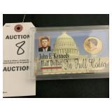 1997 John F. Kennedy in Full Color Half Dollar