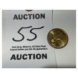 RARE Haudenosaunee Sacajawea Dollar Coin - No Date