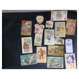 Vintage Used Postcards