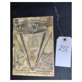 Vintage Catalog The Denver Carnival Supply Company