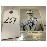 Phil Rizzuto Baseball Player Autographed Photo