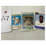 Three (3) Advertisement Baseball Cards