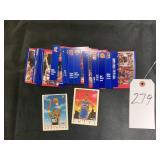 Fleer 91 Basketball Trading Cards