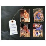 Topps Stadium Club Basketball Trading Cards 91-92