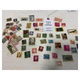 Assorted Vintage Stamps