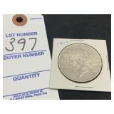 1922 Liberty PEACE Silver Dollar