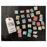 Vintage Collector Stamps