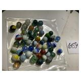 Big Lot Of Assorted Marbles