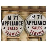 M71 Appliance Sales Advertising
