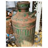 Sinclair 1920s ribbed gas can