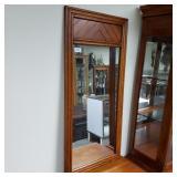 Beautiful Wood Framed Mirror Broyhill Lenoir House