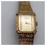 Omega Ladies Wrist Watch signed 14K? Wind up
