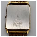 Seiko Quartz Gold Plated Ladies Wrist Watch