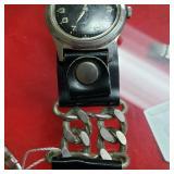 Rare Bulova Wrist Watch Dupont Band Wind Up