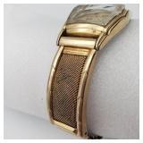 Antique Bulova 18KT GP Wind Up Wrist Watch