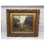 Oil on Canvas J.M.W. Kessler impressive Frame Gild