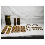 Edwardian brass door handles by William Tonks & So