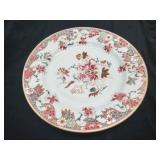 Antique Chinese Famille Rose Plate Dish Flowers