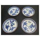 Set 19th C Chinese Export Porcelain Blue & White P