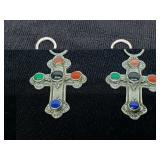 2 pendants Native American Sterling 925