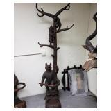 Quality Black Forest Bear Hall Stand wood/Brienz 1
