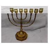Antique Candlestick Judaica 19th Century