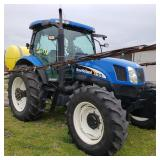 New Holland TS115A tractor
