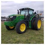 John Deere 6150R FWD tractor