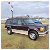 1993 Ford Explorer w/tinted windows