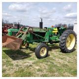 John Deere 2030A tractor w/loader